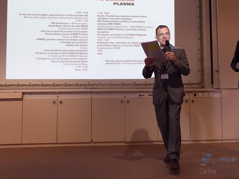 Vincent LAFLÈCHE Directeur de Mines ParisTech