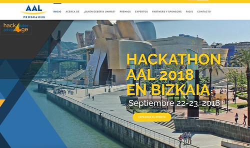 Hackathon AAL 2018, Hack4Elder advantAGE,
