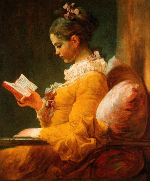 프라고나르 '독서하는 소녀'