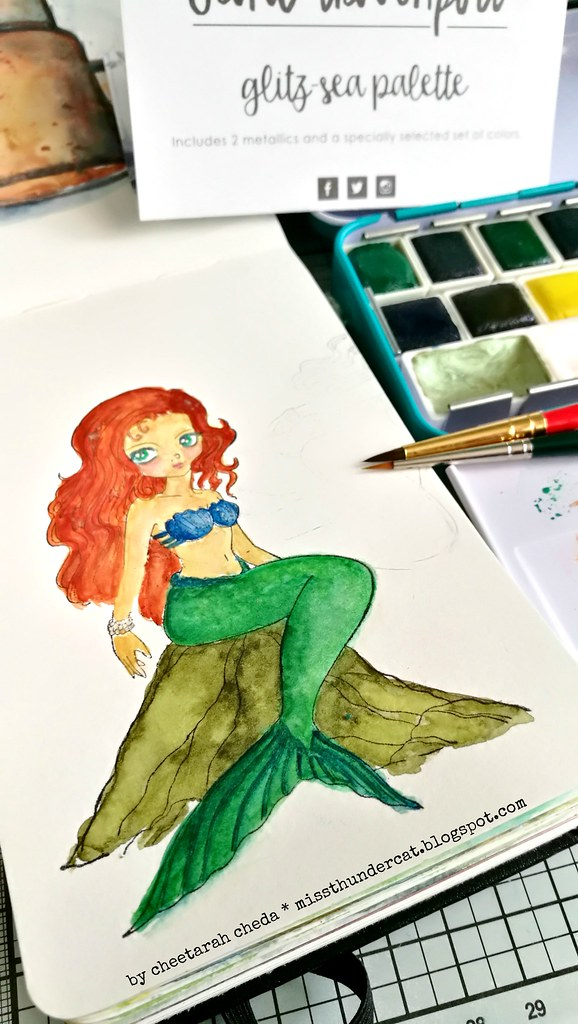 WCW: Little mermaid