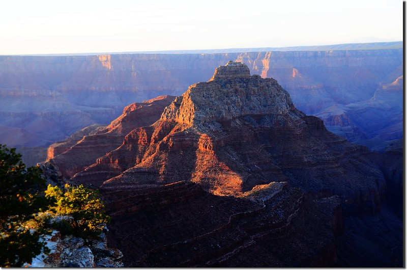 Vishnu Temple as viewed from Cape Royal on the North Rim of the Grand Canyon (6)