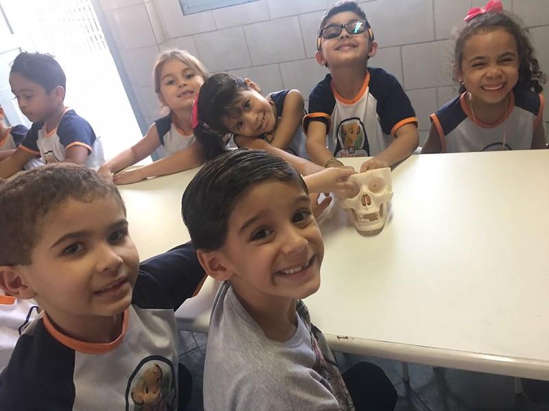 Aula de ciências - pré-escolar II.
