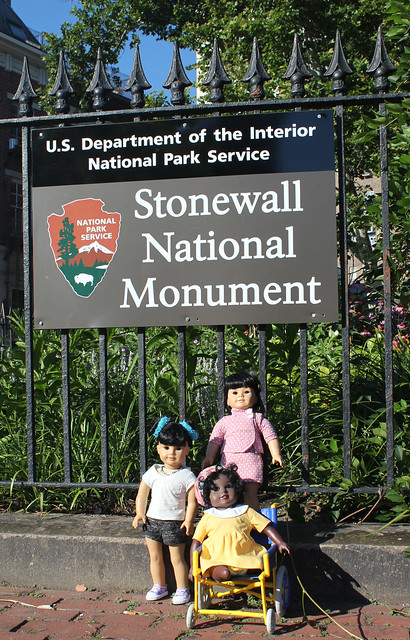 Inky & friends at the Stonewall National Monument