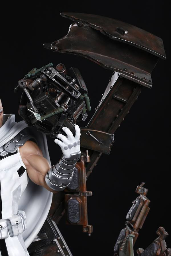 變種人才是這個世界的未來!! XM Studios Premium Collectibles 系列 Marvel Comics【萬磁王(Marvel NOW! 白色版本)】Magneto (Marvel NOW! White Ver.) 1/4 比例全身雕像作品
