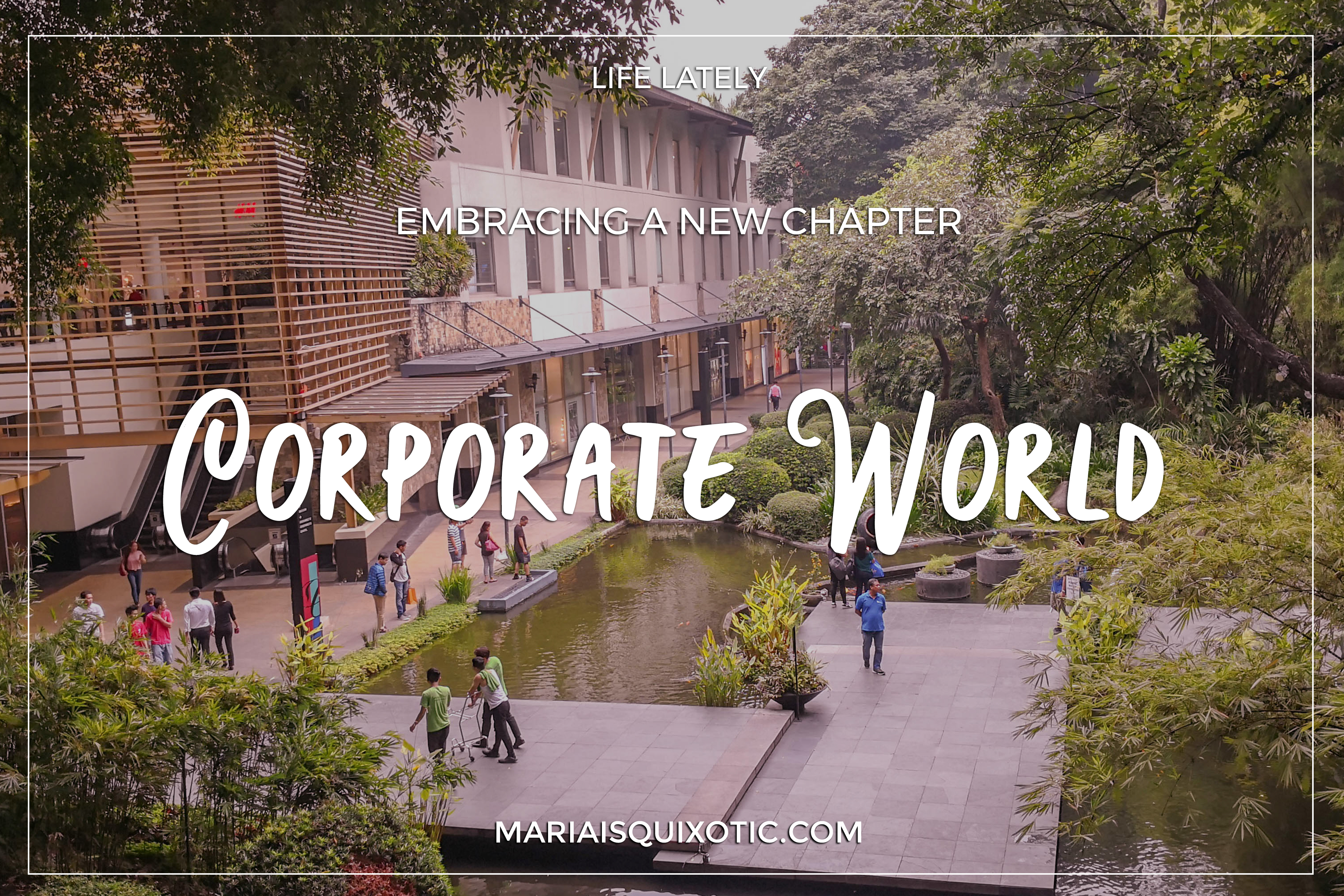 New Chapter: Corporate World