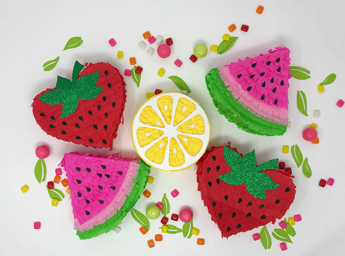 Fruity Mini Pinatas
