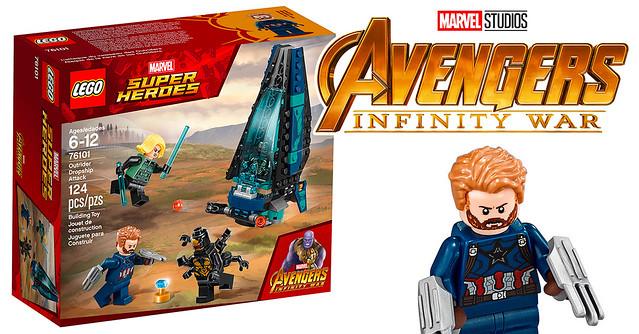 REVIEW LEGO Marvel 76101 Outrider Dropship Attack