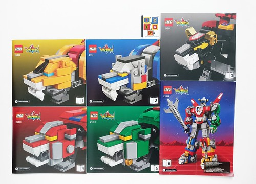 Lego Ideas Voltron 21311 Review The Brick Fan