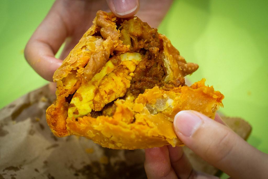 罗丽娜传统海南咖喱酥咖喱鸡馅
