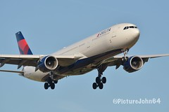 A330: DL142 Delta Airlines Airbus 330-300 (N815NW) from Seattle Tacoma