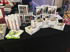 Swag Table at the 2018 Secret Room Gifting Suite for the MTV TV & Movie Awards - IMG_7598