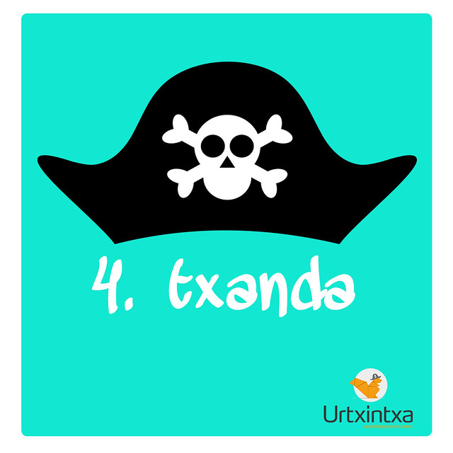 4.txanda Pirata udalekuak 2018