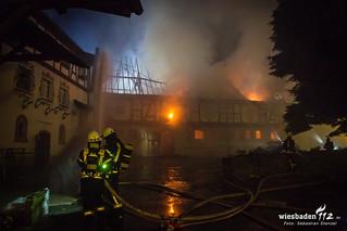 "Großbrand ""Rettershof"" Kelkheim 04.07.18"