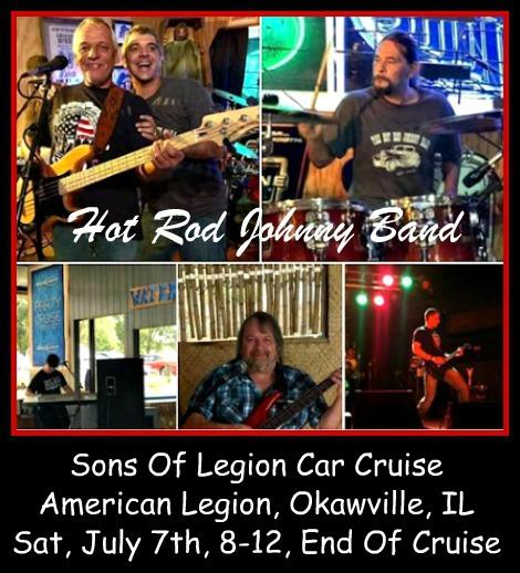 Hot Rod Johnny Band 7-7-18