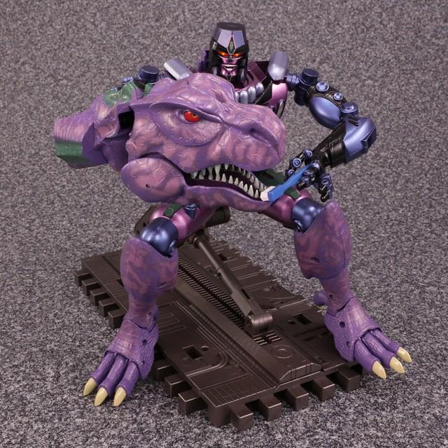 變形金剛Masterpiece《野獸大戰》「恐龍王」情報公開!!TRANSFORMERS Master Piece Series MP-43 Megatron(Beast Wars)