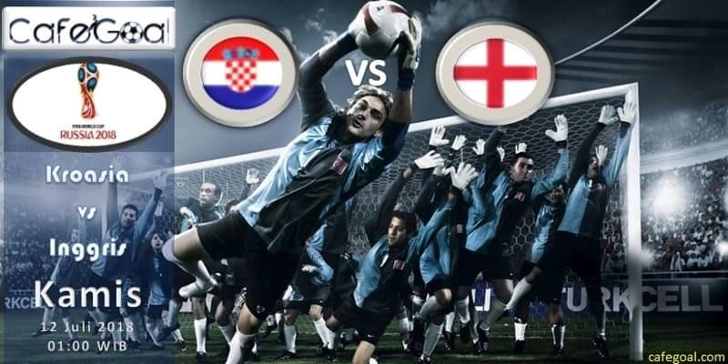 Prediksi Bola Kroasia vs Inggris, hari Kamis, 12 Juli 2018 - Piala Dunia