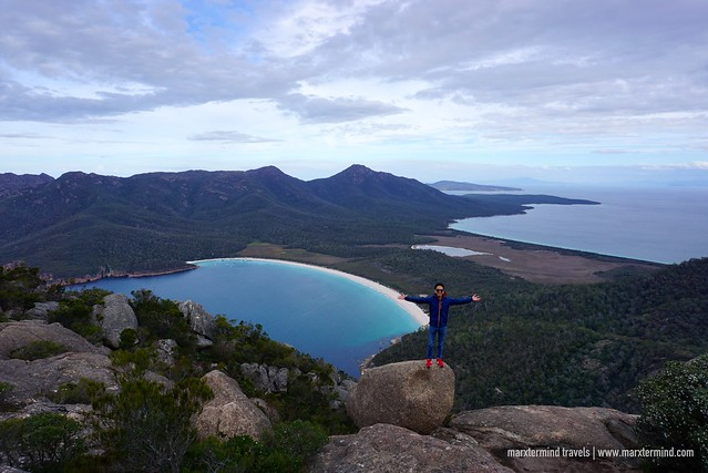 marxtermind at Wineglass Bay Freycinet Tasmania