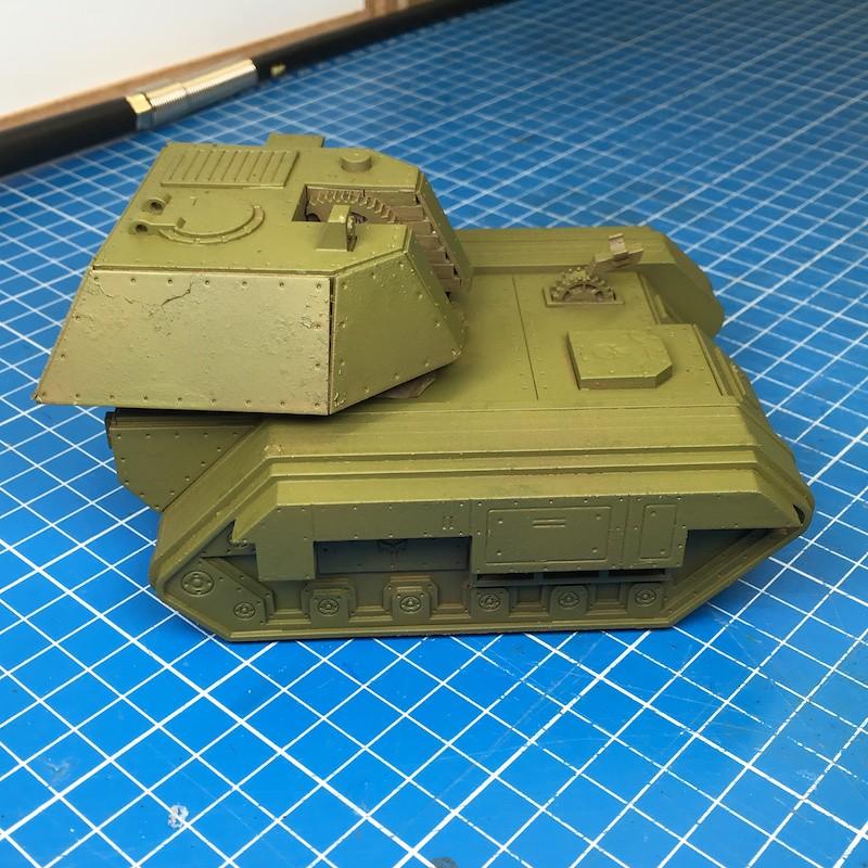 Lasercut basilisk tank green-4
