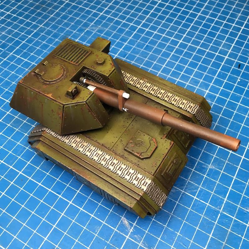 Lasercut basilisk tank green-15