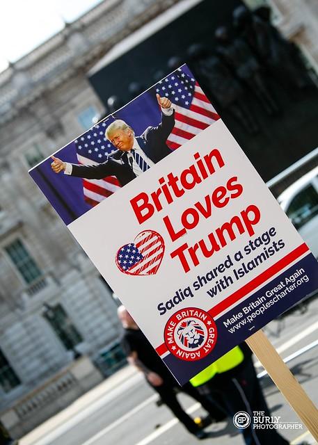 Pro-Trump Demo