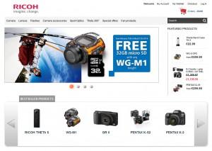 PENTAX Web Stores - Europe
