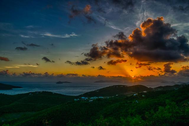 Last St. Thomas Sunrise