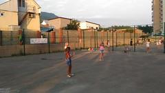Выступление детей ЖК Азимут во дворе!