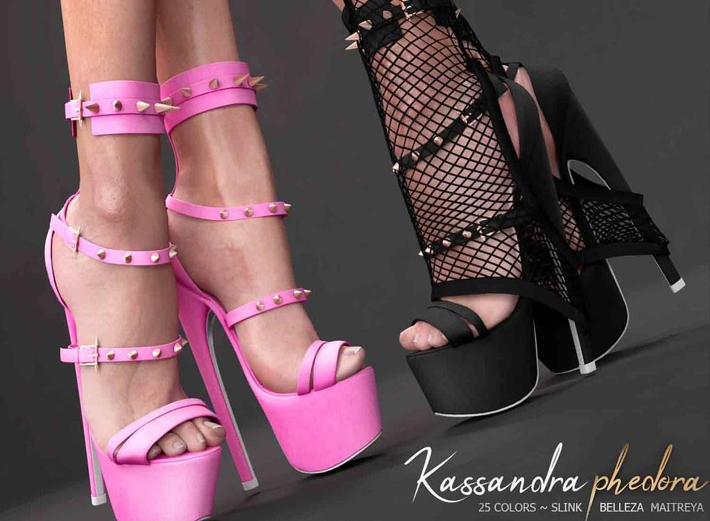 "Phedora for Kinky Event - ""Kassandra"" heels - TeleportHub.com Live!"