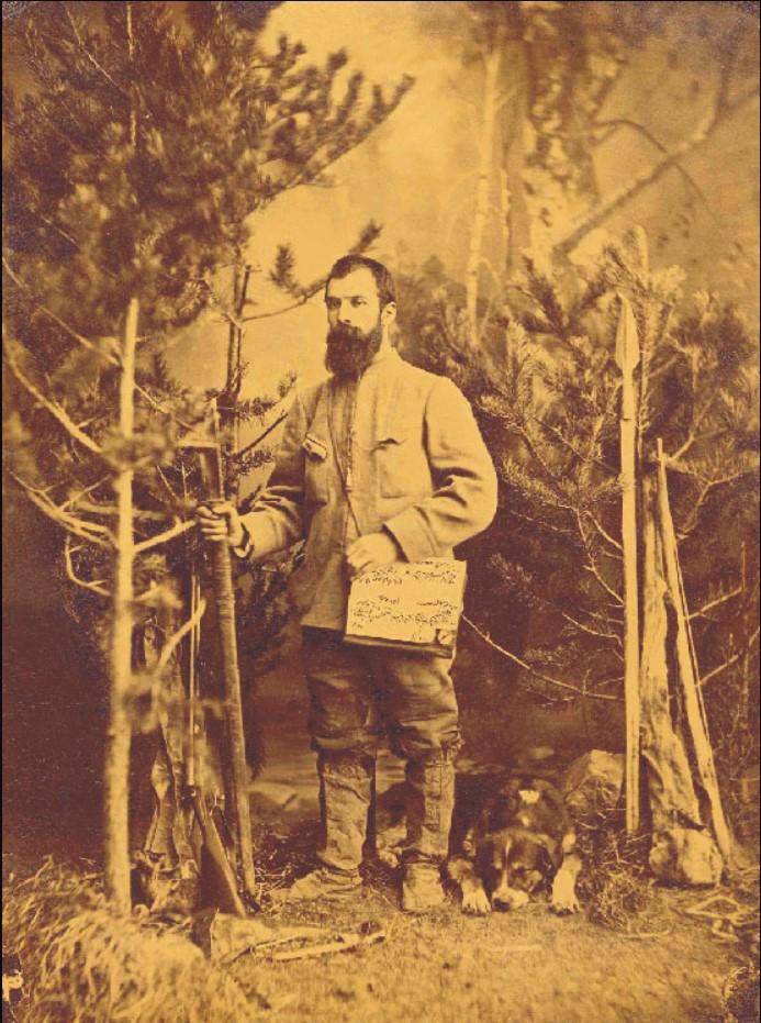 1887. Выставка во Дворце Трокадеро предметов, привезенных Жозефом Мартином из его экспедиции в Восто