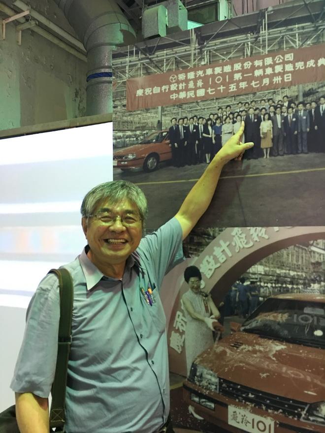 工業設計協會楊旻洲理事當年為工程中心飛羚設計團隊一員