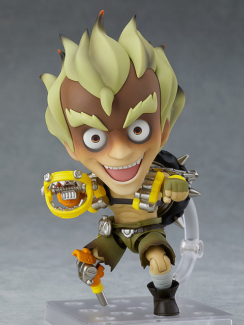Nendoroid Junkrat: Classic Skin Edition from Overwatch x Good Smile Company!