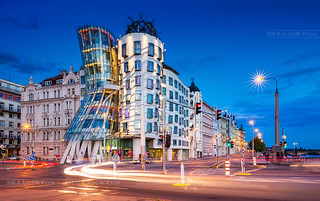 _MG_5096 - The Dancing House in blue hour