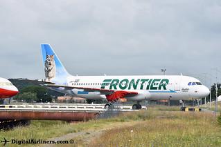 F-WWBY / N337FR Airbus A320-251N msn 8380 Frontier