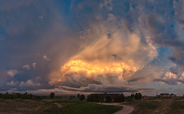 Stormcell Pano South Golfcourse