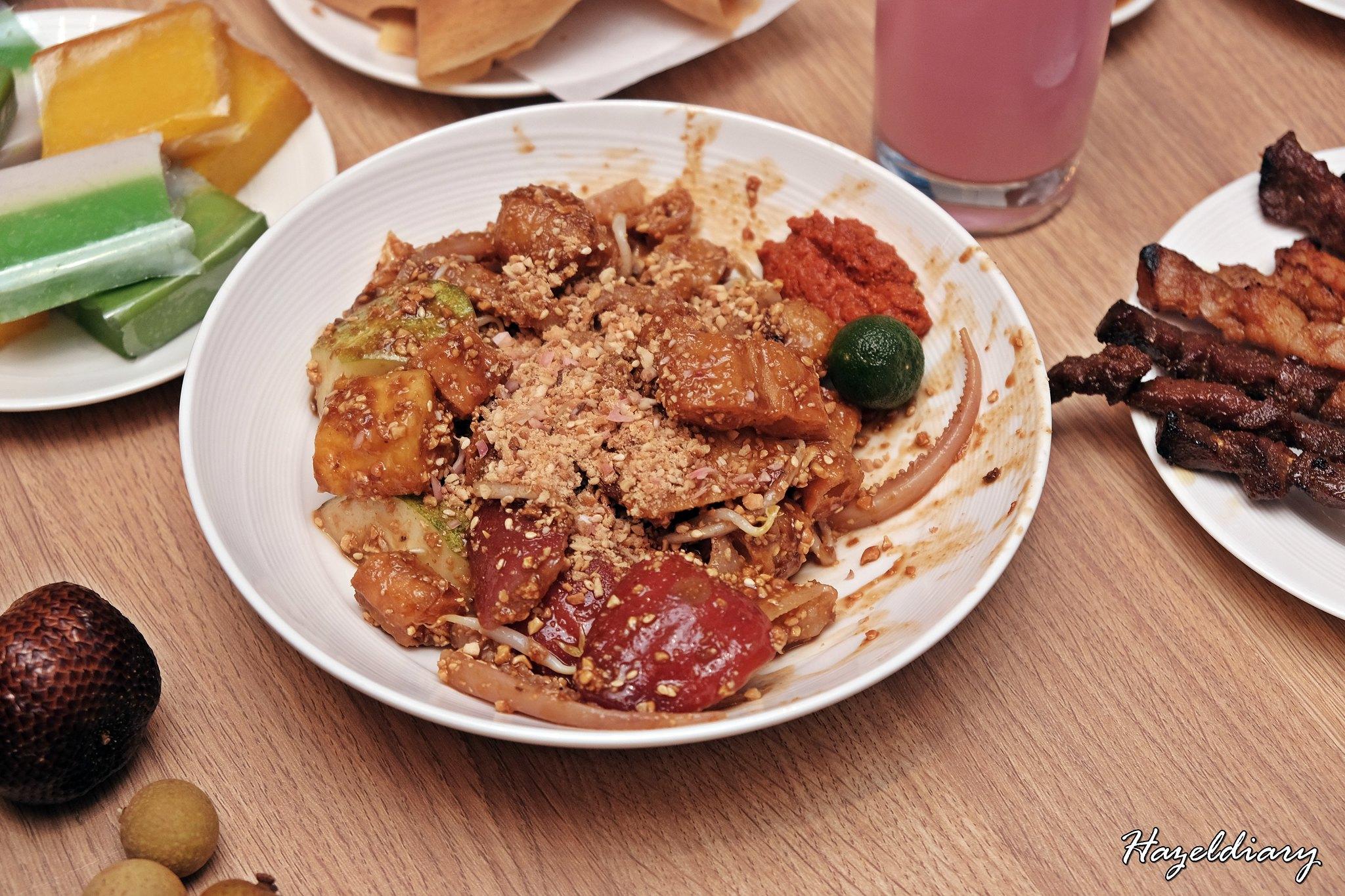 Penang Food Fare Buffet-Sky22 Courtyard Marriott-Penang Rojak