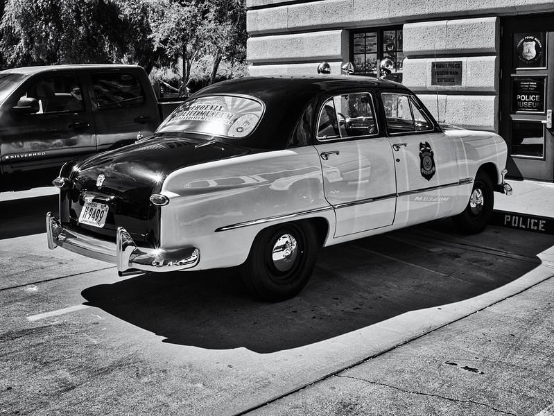 Classic Ford Police Cruiser