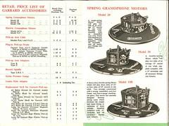 Garrard Brochure 1953 f