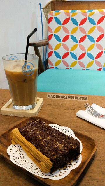 tabbot koffie shop bintaro cake mesyes - kadungcampur