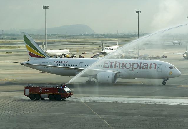 Ethiopian Airlines lanza vuelo directo a Barcelona, segundo destino en España