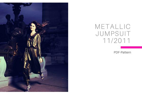 Metallic Jumpsuit