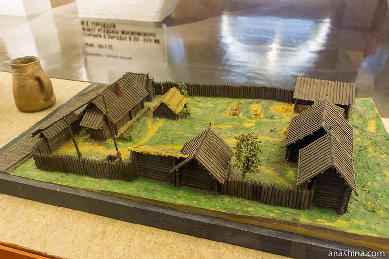 Реконструкция старинного жилища, Музей Москвы