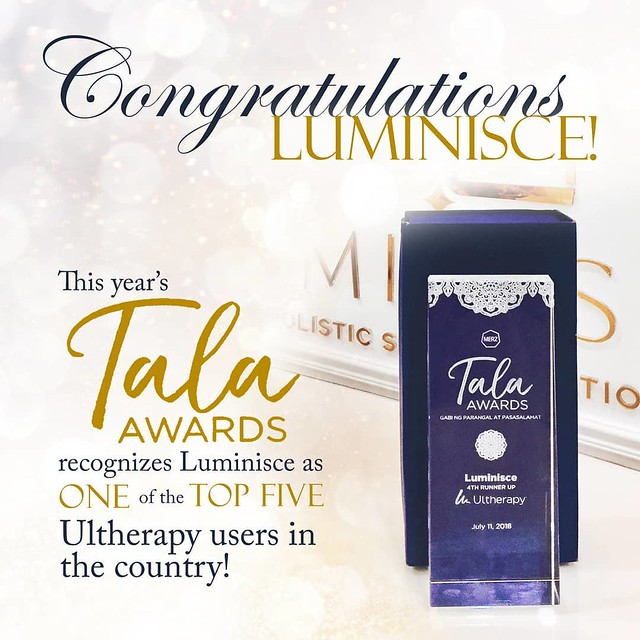 Luminisce Top Ultherapy Award