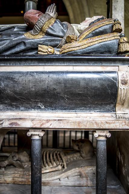 Elizabeth Cary (1585-1639), St John the Baptist church, Burford