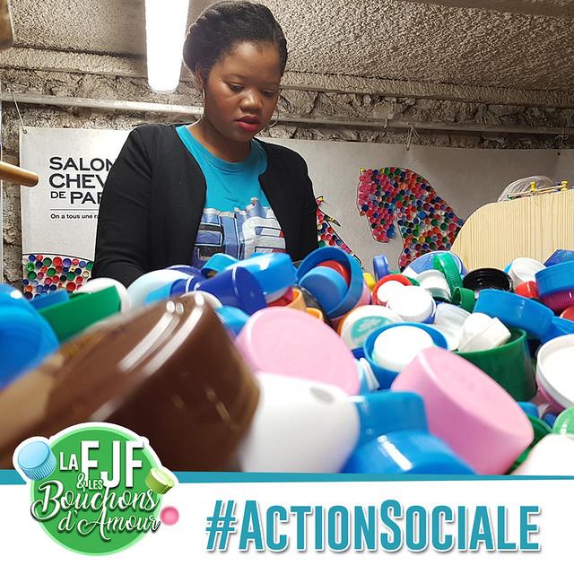 Action Sociale - Les bouchons d'Amour