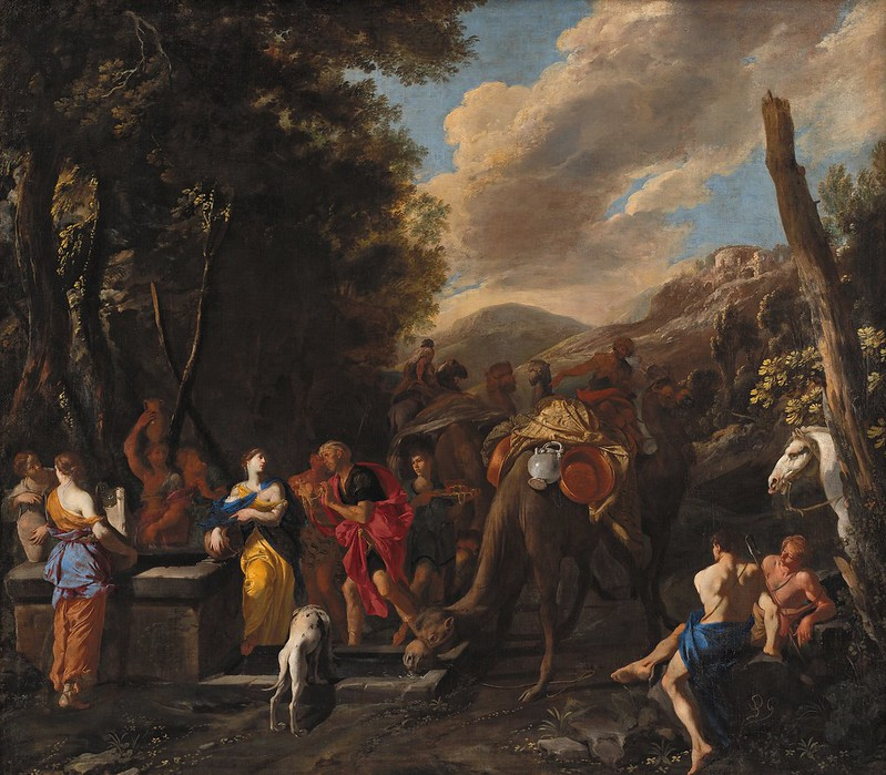 Domenico Gargiulo - Rebecca and Eliezer at the Well