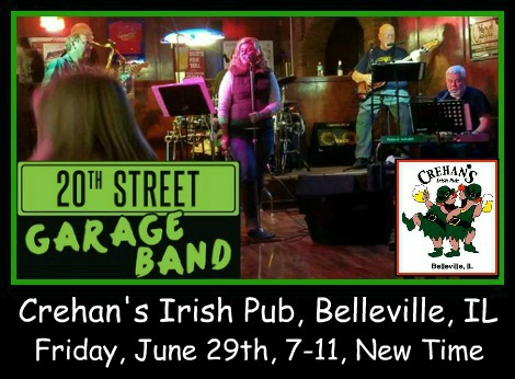 20th Street Garage Band 6-29-18