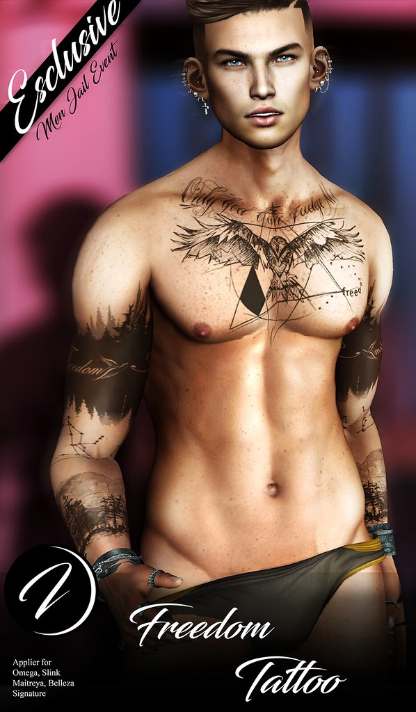 ..:: INKer ::.. Freedom Tattoo Exclusive - TeleportHub.com Live!