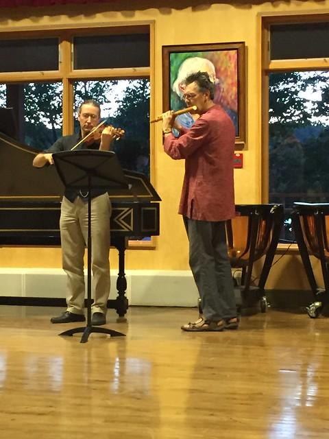 Violin and Baroque Flute