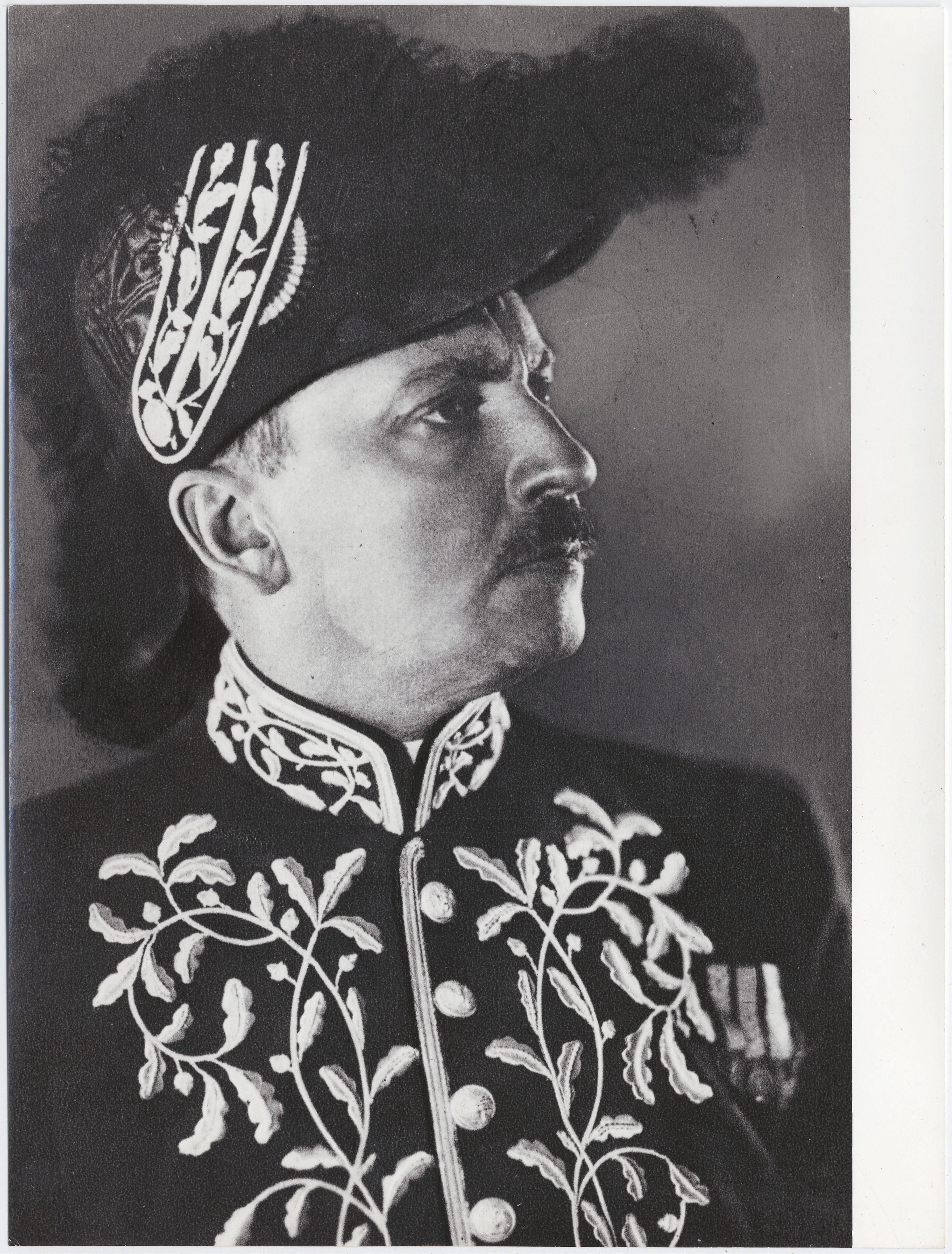 1929. Маринетти в образе академика итальянской Академии наук