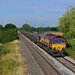 66145 6M94 Humberstone Road leicester - Corby BSC at Wyfordby